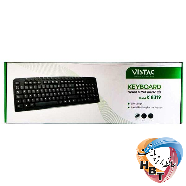کیبورد ویستک KEYBOARD VISTAC K8319