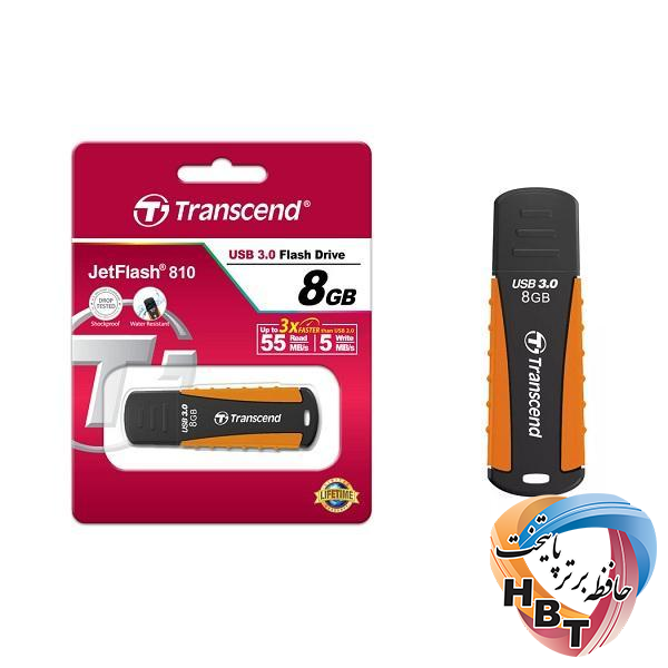 فلش مموری ترنسند مدل Flash Memory Transcend Jet  Flash 810 usb3.0 8G